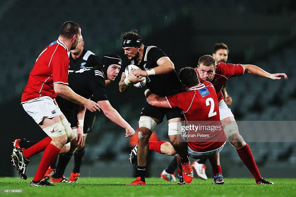 Maori All Blacks v New Zealand Barbarians