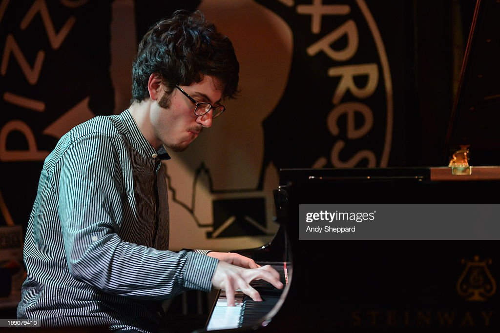 Elliot Gavin of Laura Jurd Quartet performs on stage at Pizza Express Jazz Club on May 19, 2013 in London, England.