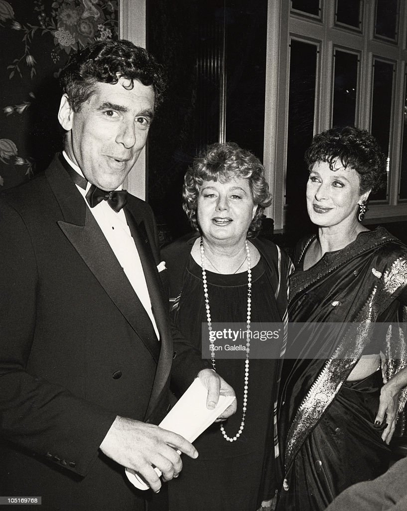 Elliot Gould, <a gi-track='captionPersonalityLinkClicked' href=/galleries/search?phrase=Shelley+Winters&family=editorial&specificpeople=209394 ng-click='$event.stopPropagation()'>Shelley Winters</a>, & Rita Gam during Opening Celebration of the 3rd Annual Israeli Film Festival at Waldorf Astoria Hotel in New York, NY, United States.