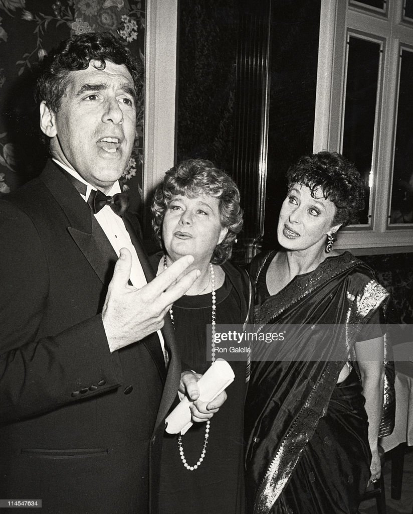 Elliot Gould, Shelley Winters, & Rita Gam during Opening Celebration of the 3rd Annual Israeli Film Festival at Waldorf Astoria Hotel in New York, NY, United States.