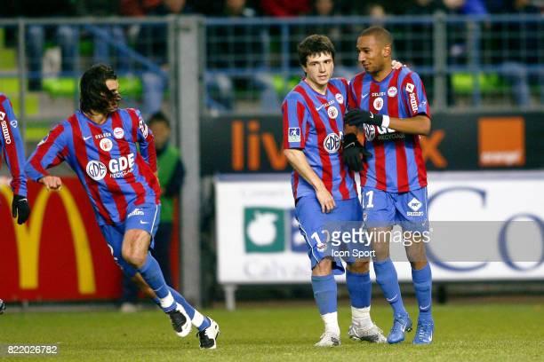 Elliot GRANDIN / GrΘgory PROMENT caen / Bordeaux 15e journee Ligue1 2007 / 2008