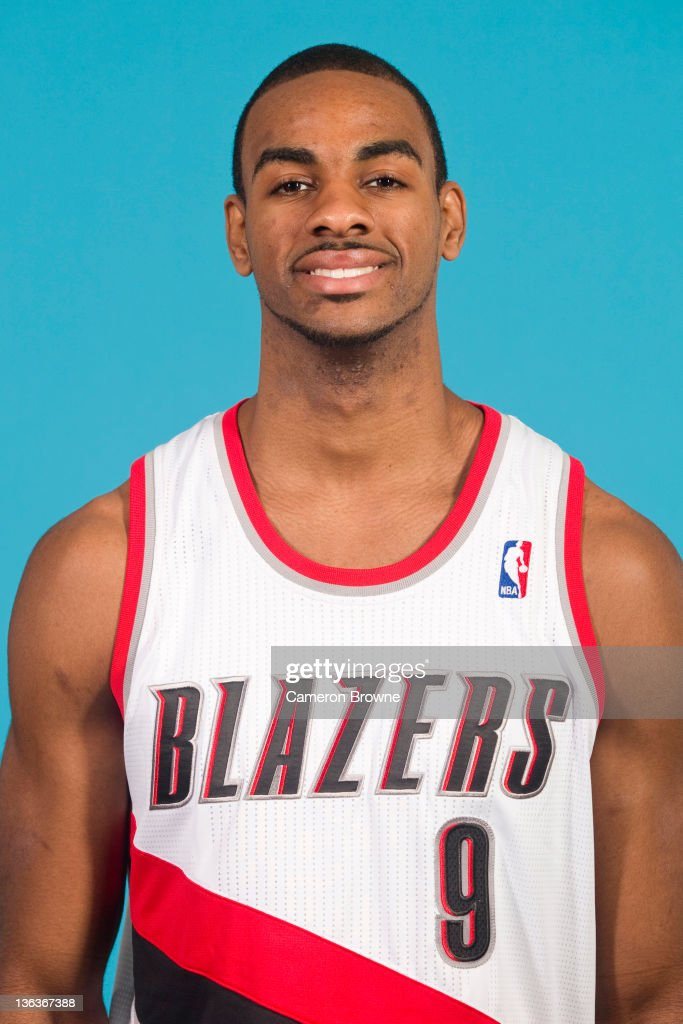 Elliot Williams #9 of the Portland Trail Blazers poses for a portrait during Media Day on December 16, 2011 at the Rose Garden Arena in Portland, Oregon.
