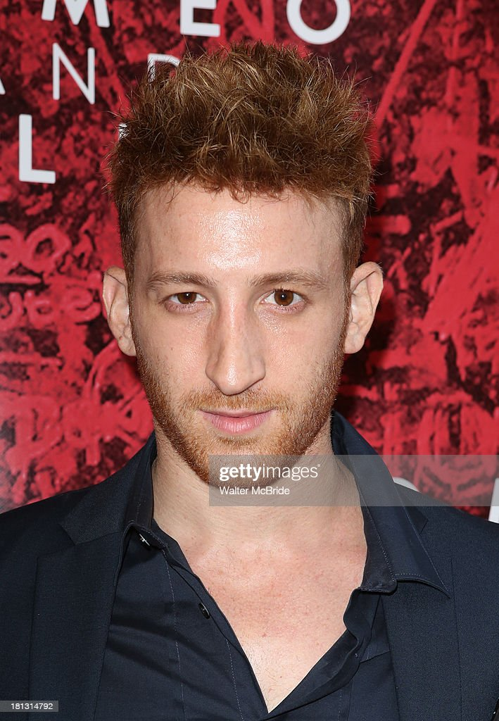 Elliot Zimit attends the 'Romeo And Juliet' Broadway Opening Night at Richard Rodgers Theatre on September 19, 2013 in New York City.