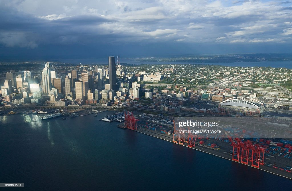 Elliott Bay, Seattle, Washington : Stock Photo
