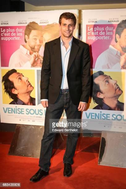 Elliott Covrigaru film director during the 'Venise Sous La Neige' Paris Premiere at UGC Cine Cite des Halles on May 15 2017 in Paris France