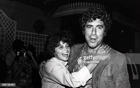 Elliott Gould and Jennifer Bogart circa 1980 in Los Angeles California