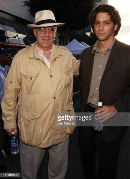 Elliott Gould and son Sam during 'Mr 3000' Los Angeles Premiere Red Carpet at El Capitan Theatre in Hollywood California United States
