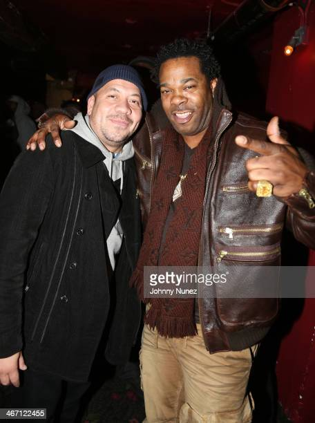 Elliott Wilson and Busta Rhymes attend 2 Good To Be TRU at Roseland Ballroom on February 5 2014 in New York City