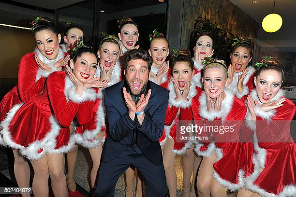 Elliott Yamin attends the OC Christmas Extravaganza Concert and Ball at Christ Cathedral on December 23 2015 in Garden Grove California
