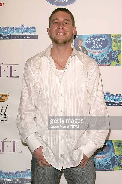 Elliott Yamin during 'American Idol' Season 5 Launch Party at Cinespace in Hollywood California United States