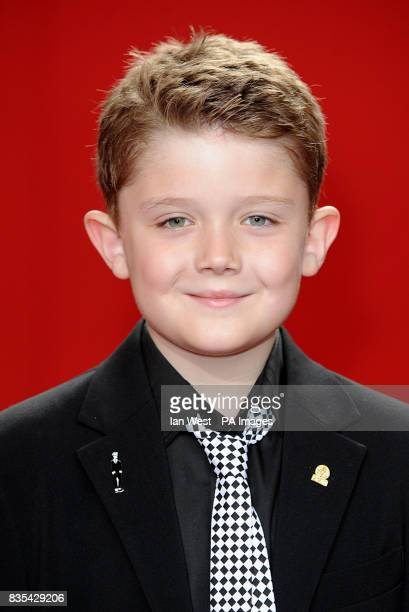 Ellis Hollins arrives for the 2009 British Soap Awards at the BBC Television Centre Wood Lane London
