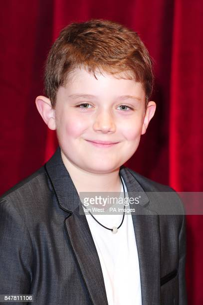 Ellis Hollins arriving for the 2012 British Soap Awards at ITV London Studios South Bank London