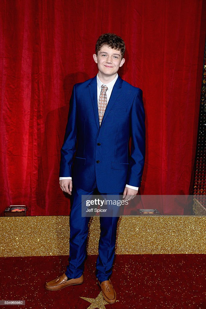 Ellis Hollins attends the British Soap Awards 2016 at Hackney Empire on May 28, 2016 in London, England.