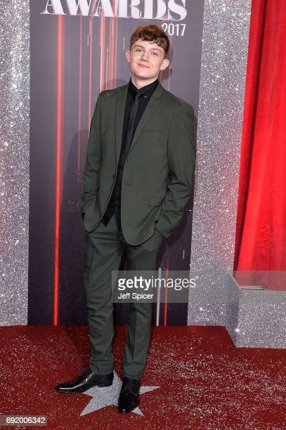 Ellis Hollins attends The British Soap Awards at The Lowry Theatre on June 3 2017 in Manchester England The Soap Awards will be aired on June 6 on...