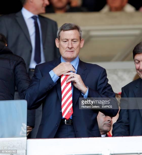 Ellis Short the Sunderland owner in the stands
