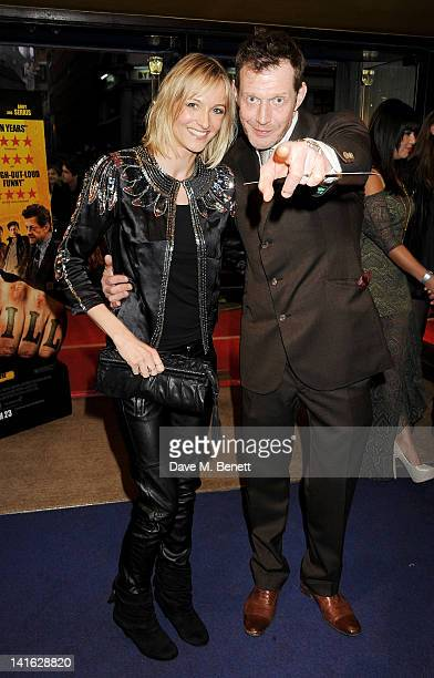 Elly Fairman and actor Jason Flemyng attend the premiere of 'Wild Bill' at Cineworld Haymarket on March 20 2012 in London England