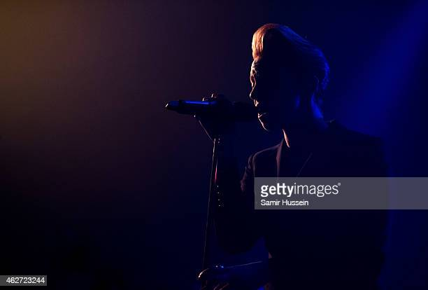 Elly Jackson of La Roux performs at Koko on February 3 2015 in London England