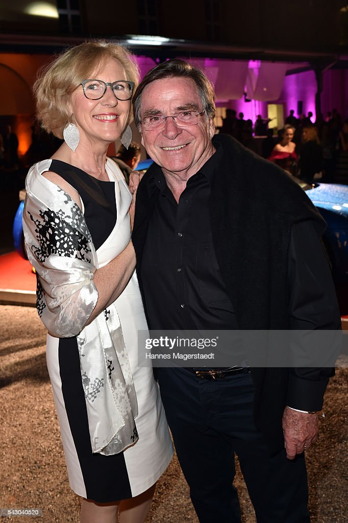 Elmar Wepper and his wife Anita Wepper the Audi Director's Cut during the Munich Film Festival 2016 at Praterinsel on June 25, 2016 in Munich, Germany.