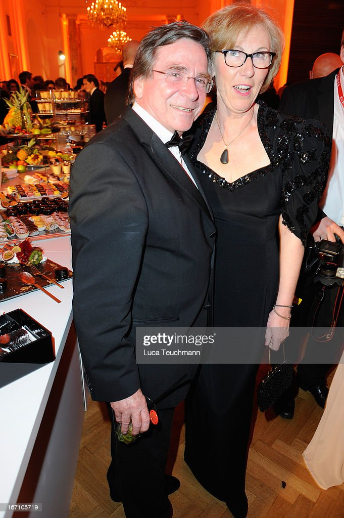 <a gi-track='captionPersonalityLinkClicked' href=/galleries/search?phrase=Elmar+Wepper&family=editorial&specificpeople=3969129 ng-click='$event.stopPropagation()'>Elmar Wepper</a> and wife Anita attend the 'Romy Award 2013 - Afterparty' at Hofburg Vienna on April 20, 2013 in Vienna, Austria.