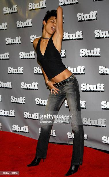 Elmira during 2003 MTV Video Music Awards Stuff Magazine PreVMA Party Hosted By Missy Elliot and Dave Meyers at SHOW in New York City New York United...