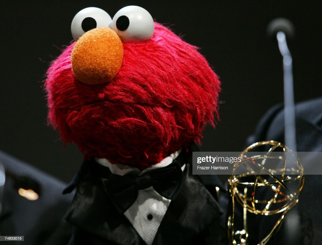 'Elmo' accepts the Emmy for 'Live Action & Animation Sound Editing' onstage during the 34th Annual Daytime Creative Arts & Entertainment Emmy Awards held at the Hollywood & Highland Grand Ballroom on June 14, 2007 in Hollywood, California.