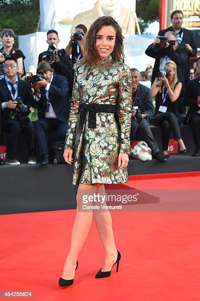 Elodie Bouchez attends the Opening Ceremony and 'Birdman' premiere during the 71st Venice Film Festival at Palazzo Del Cinema on August 27 2014 in...