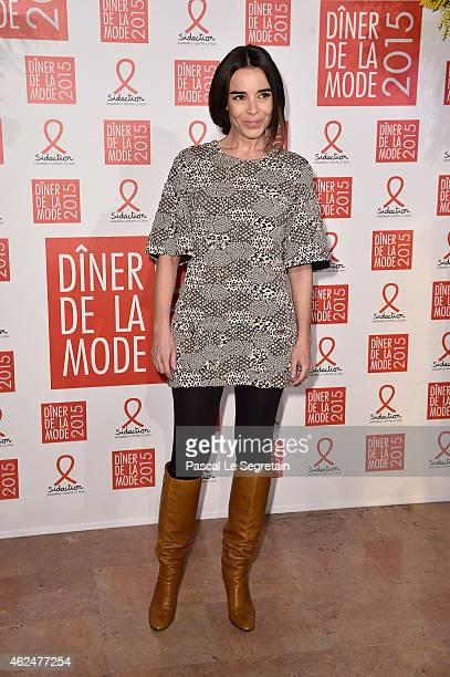 Elodie Bouchez attends the Sidaction Gala Dinner 2015 at Pavillon d'Armenonville on January 29 2015 in Paris France