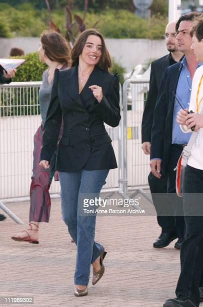 Elodie Bouchez during Deauville 2002 'CQ' Premiere at Centre International de Deauville in Deauville France