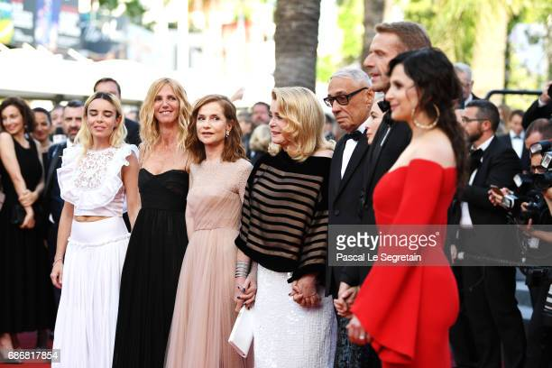 Elodie Bouchez Sandrine Kiberlain Isabelle Huppert Catherine Deneuve Andre Techine Emmanuelle Beart Lambert Wilson and Juliette Binoche attend the...