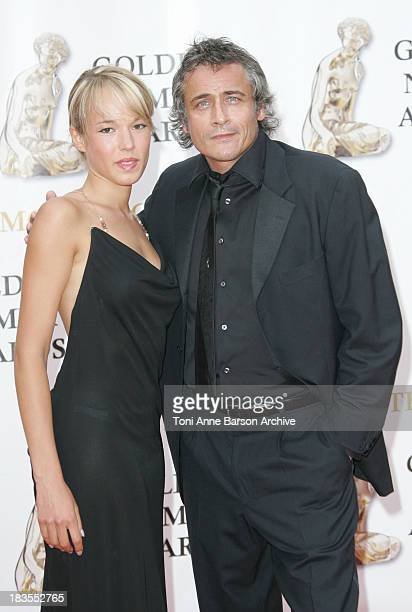 Elodie Fontan and Jean Michel Tinivelli during 2007 Monte Carlo Television Festival Closing Ceremony Gold Nymph Awards Arrivals at Grimaldi Forum in...