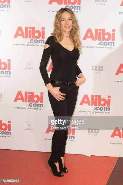 Elodie Fontan attends the 'Alibicom' Paris Premiere at Cinema Gaumont Opera on January 31 2017 in Paris France