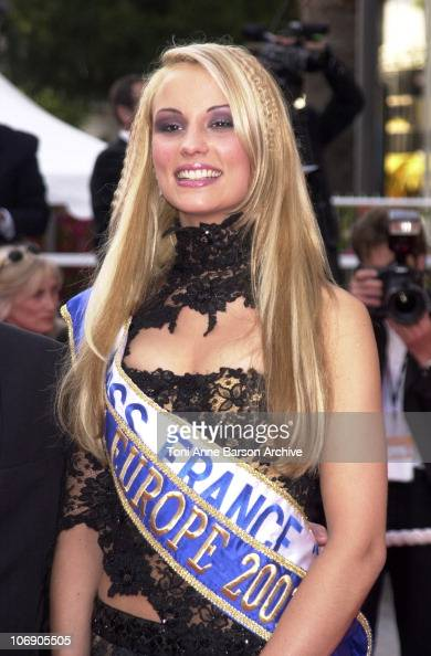 France 2001 elodie gossuin stock photos and pictures getty images - Elodie gossuin miss france ...