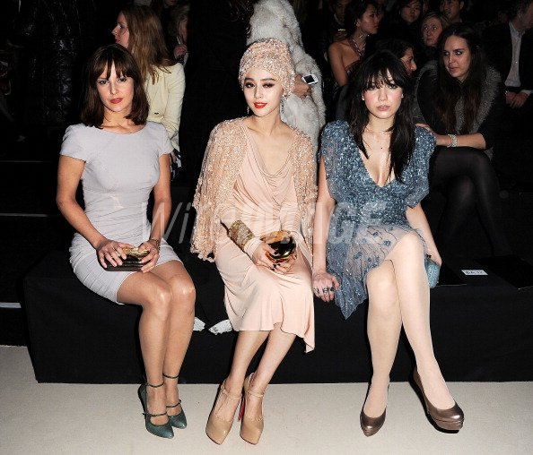 d00f015c682 Elodie Navare Fan Bing Bing and Daisy Lowe attend the Elie Saab ...