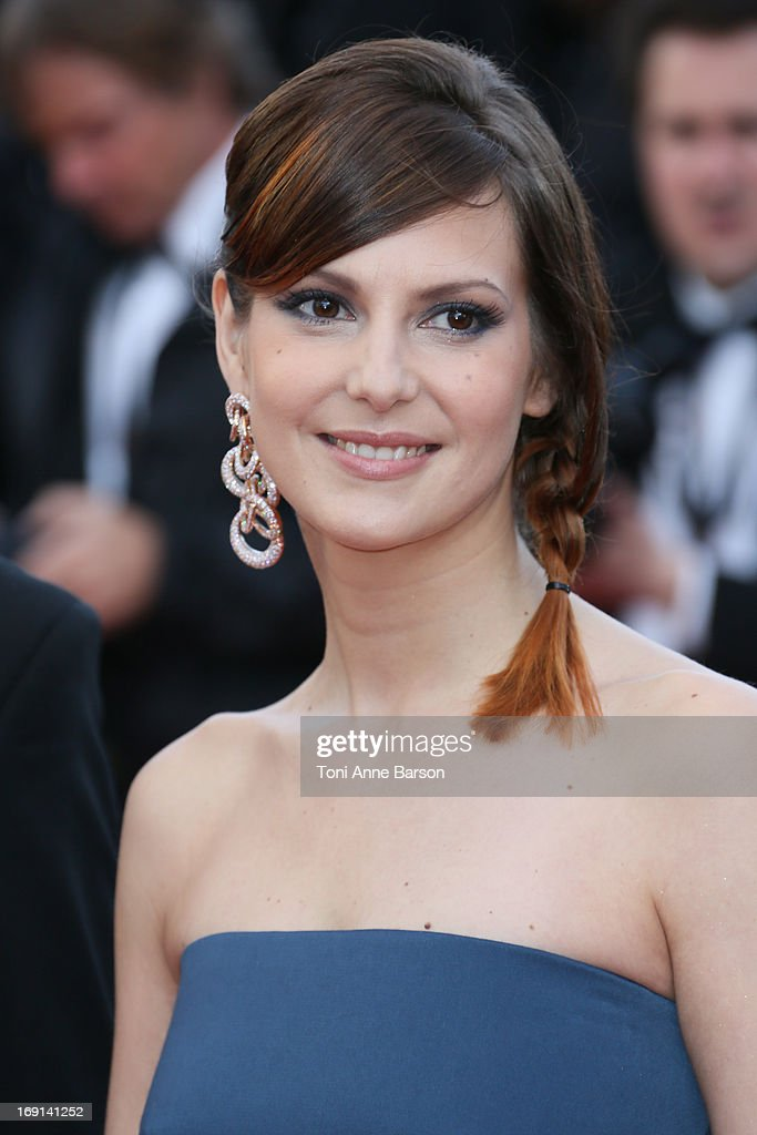 Elodie Navarre attends the Premiere of 'Blood Ties' during the 66th Annual Cannes Film Festival at the Palais des Festivals on May 20, 2013 in Cannes, France.