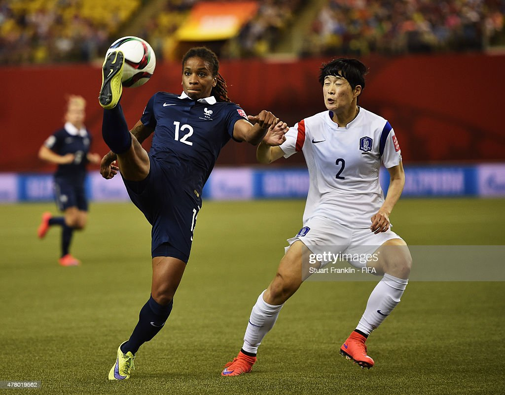 France v Korea Republic: Round of 16 - FIFA Women's World Cup 2015