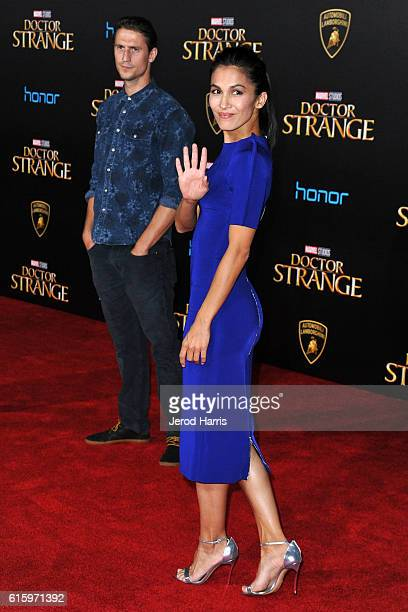 Elodie Yung arrives at the Premiere of Disney and Marvel Studios' 'Doctor Strange' on October 20 2016 in Hollywood California