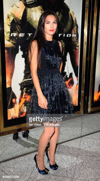 Elodie Yung arrives for the UK premiere of GI Joe Retaliation at the Empire Cinema in London