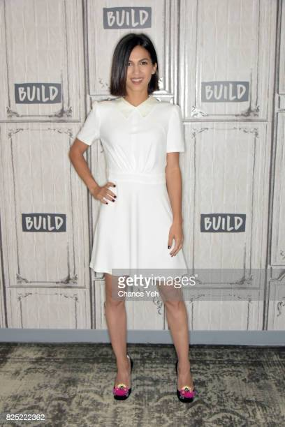 Elodie Yung attends Build series to discuss her new projects at Build Studio on August 1 2017 in New York City