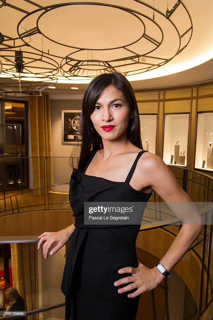 Elodie Yung attends Jaeger-LeCoultre Vendome Boutique Opening at Jaeger-LeCoultre Boutique on November 20, 2012 in Paris, France.