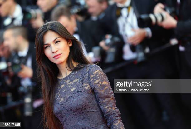 Elodie Yung attends 'Le Passe' Premiere during the 66th Annual Cannes Film Festival at Grand Theatre Lumiere on May 17 2013 in Cannes France