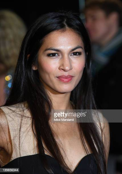 Elodie Yung attends 'The Girl With The Dragon Tattoo' world premiere at Odeon Leicester Square on December 12 2011 in London England