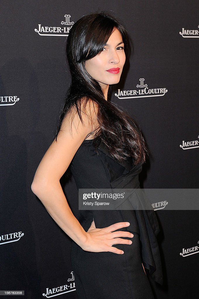 Elodie Yung attends the Jaeger-LeCoultre Place Vendome Boutique Opening at Jaeger-LeCoultre Boutique on November 20, 2012 in Paris.