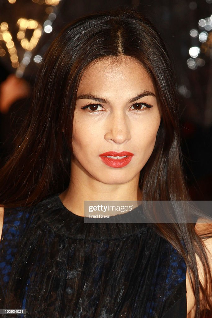 Elodie Yung attends the UK film premiere of 'G.I. Joe: Retaliation' at The Empire Cinema on March 18, 2013 in London, England.
