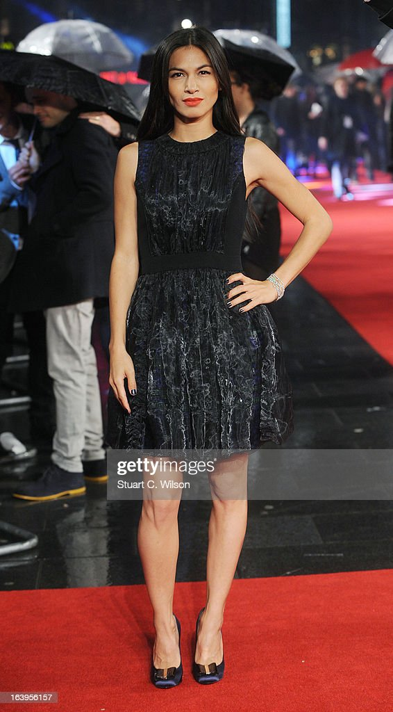 Elodie Yung attends the UK Premiere of G.I. Joe: Retaliation at Empire Leicester Square on March 18, 2013 in London, England.
