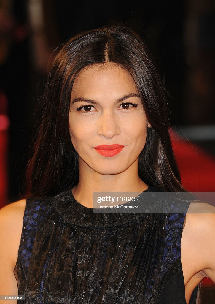 Elodie Yung attends the UK premiere of 'G.I. Joe: Retaliation' at Empire Leicester Square on March 18, 2013 in London, England.
