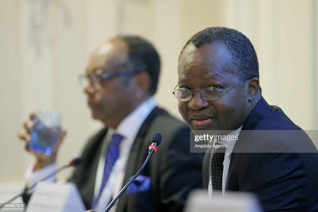 Eloi Laourou, Permanent Representative of Benin to the United Nations Office at Geneva, takes part in the event under the theme ''Science, Technology and Innovation Inspired Sustainable Development: Building Capacity in the LDCs'' within the Midterm Review of the Istanbul Programme of Action at Titanic Hotel in Antalya, Turkey on May 28, 2016. The Midterm Review conference for the Istanbul Programme of Action for the Least Developed Countries takes place in Antalya, Turkey from 27-29 May 2016.