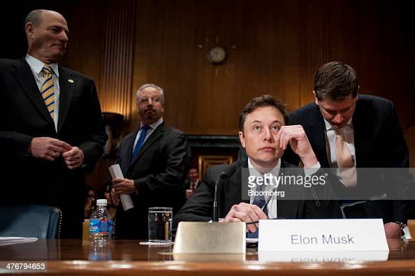 SpaceX CEO Elon Musk Testifies Before The Senate ...