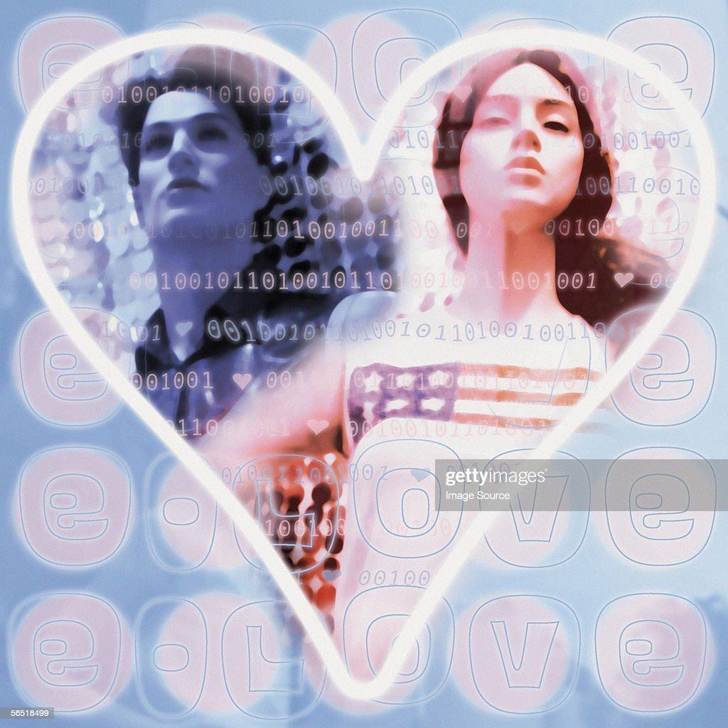 e-Love : Stock Photo