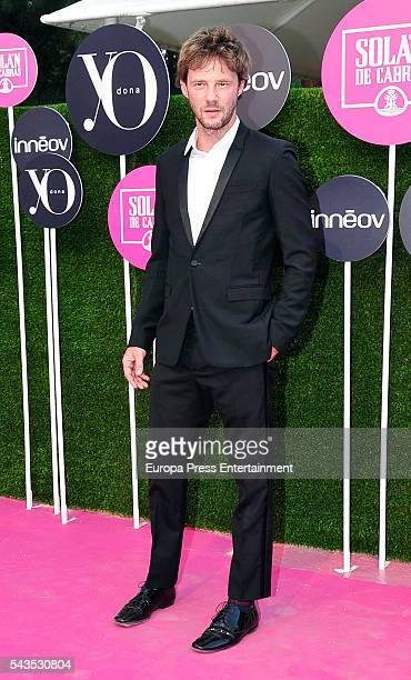 Eloy Azorin attend the 'Yo Dona' international awards at La Quinta de la Munoza on June 27 2016 in Madrid Spain