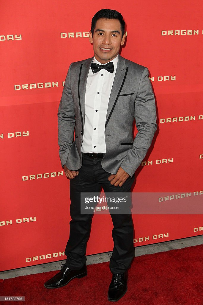 Eloy Mendez attends the 'Dragon Day' Red Carpet at Downtown Independent Theatre on September 23, 2013 in Los Angeles, California.